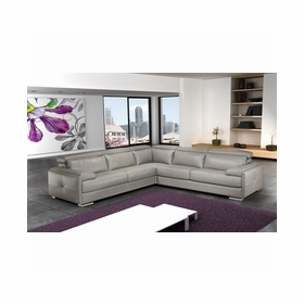 Leather Sectional Sofas by J&M Furniture
