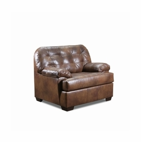 Leather Single Chairs by Lane Furniture