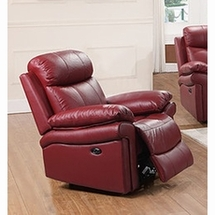 Leather Single Chairs by Leather Italia Usa