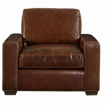 Leather Single Chairs by Universal Furniture