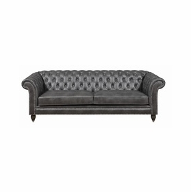 Leather Sofas by Emerald Home Furnishings