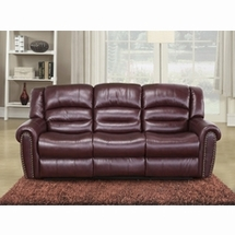 Leather Sofas by Meridian Furniture