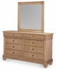 Legacy Classic Furniture - Ashby Woods Mirror With Dresser - 7060-0200_7060-1200