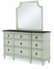 Legacy Classic Furniture - Brookhaven Mirror With Dresser - 6400-0400_6400-1200