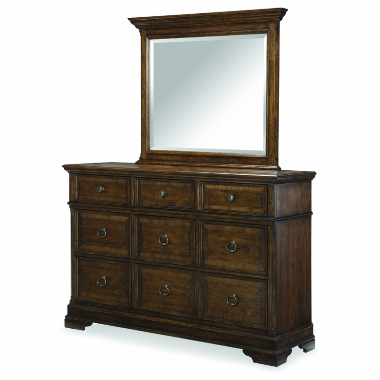 Legacy Classic Furniture - Latham Mirror With Dresser - 6070-0200_6070-1200