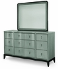 Legacy Classic Furniture - Symphony Mirror With Dresser - 5640-0400_5640-1200