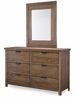 Legacy Classic Kids - Fulton County Mirror With Dresser - 5900-0100_5900-1100