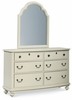 Legacy Classic Kids - Inspirations Portrait Mirror With Dresser - 3832-0100_3832-1100