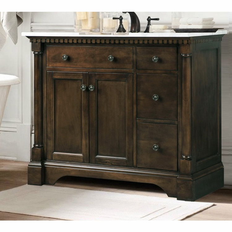 Legion Furniture 36 Quot Antique Coffee Sink Vanity With