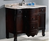 "Legion Furniture - 38"" Sink Chest - Solid Wood in Cherry Brown - No Faucet - WA3045"