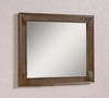 "Legion Furniture - 41"" Mirror in Light Brown  - WH3660-M"