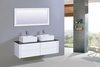 Legion Furniture - Sink Vanity with Mirror in White - No Faucet - WT9012A
