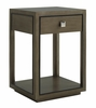 Lexington - Ariana Margaux One Drawer Night Table In Rich Gray Finish - 01-0732-622