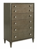 Lexington - Ariana Remy Six Drawer Chest In Rich Gray Finish - 01-0732-307