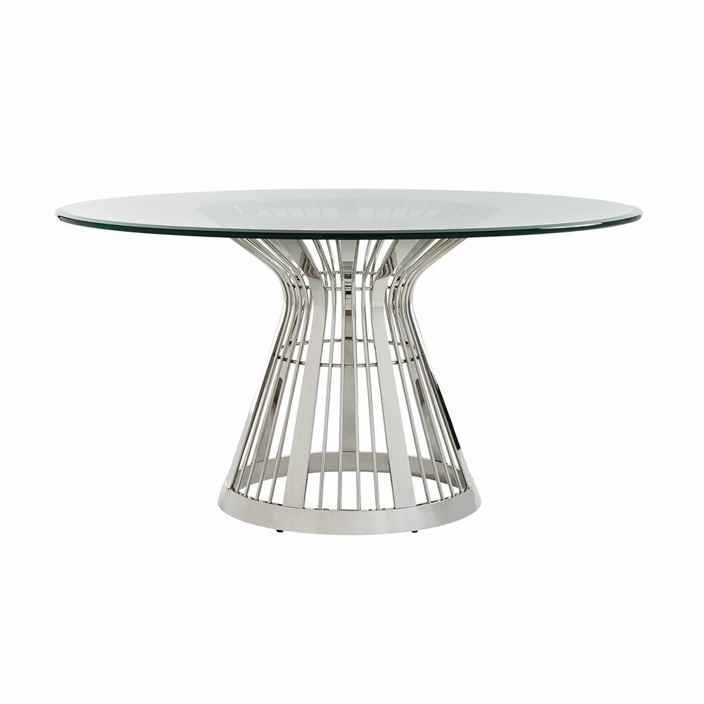 Lexington Ariana Riviera 60 Quot Round Glass Top Dining