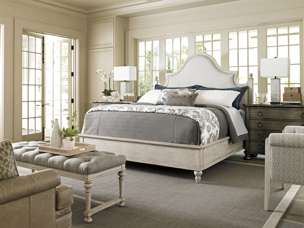 Lexington Oyster Bay Arbor Hills Queen Upholstered Bed