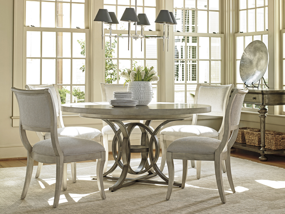 Lexington Oyster Bay Calerton Round Dining Table 01