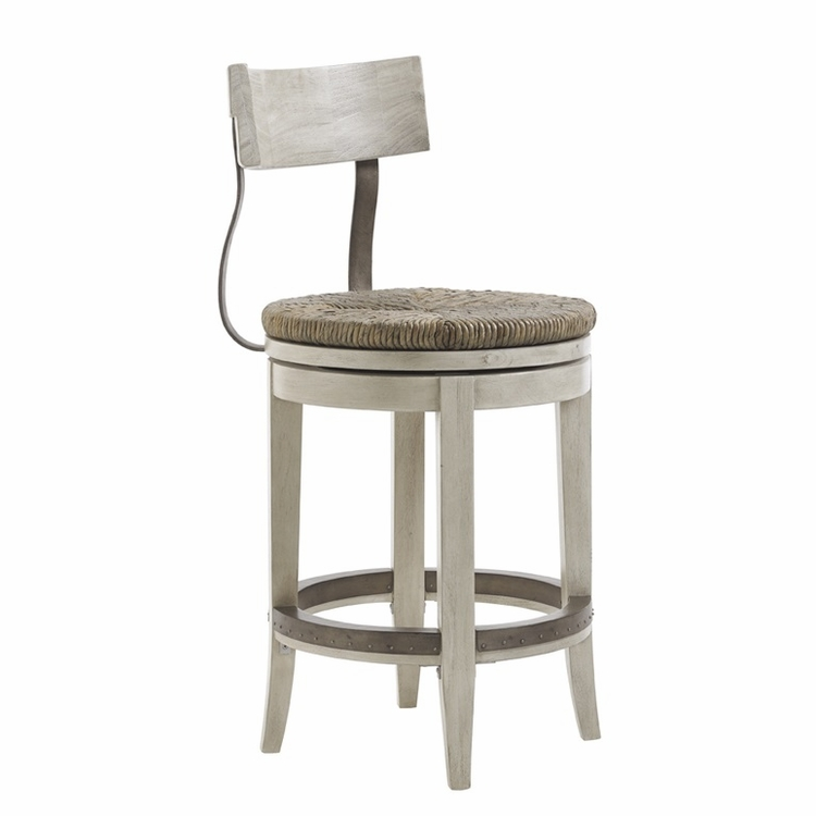 Lexington - Oyster Bay Merrick Swivel Counter Stool - 01-0714-815-01
