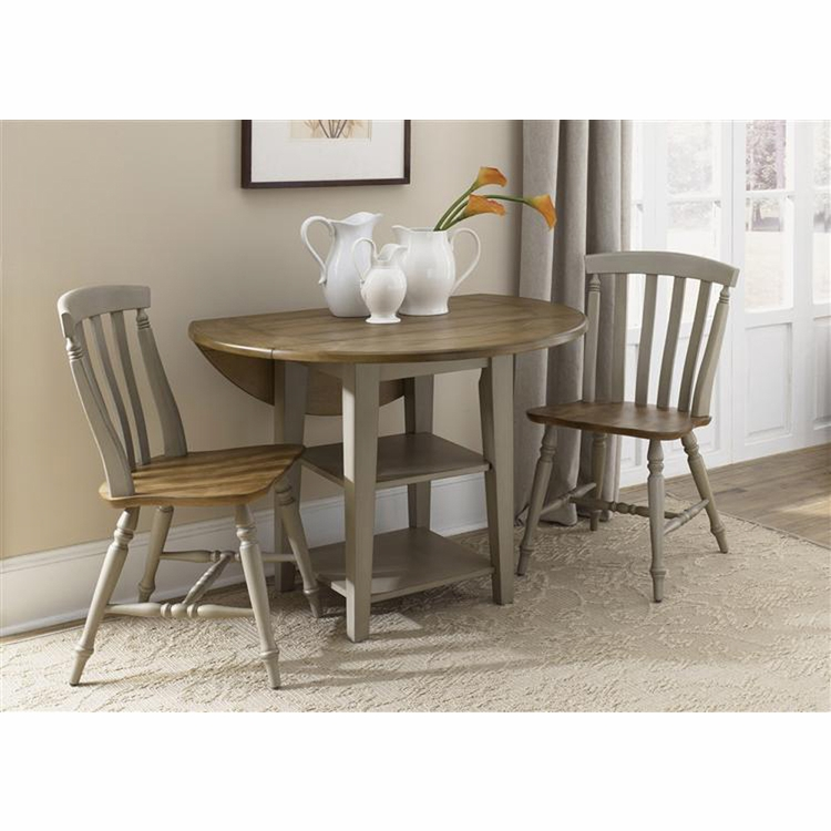 Liberty Furniture - Al Fresco 3 Piece Drop Leaf Table Set  - 541-CD-3DLS