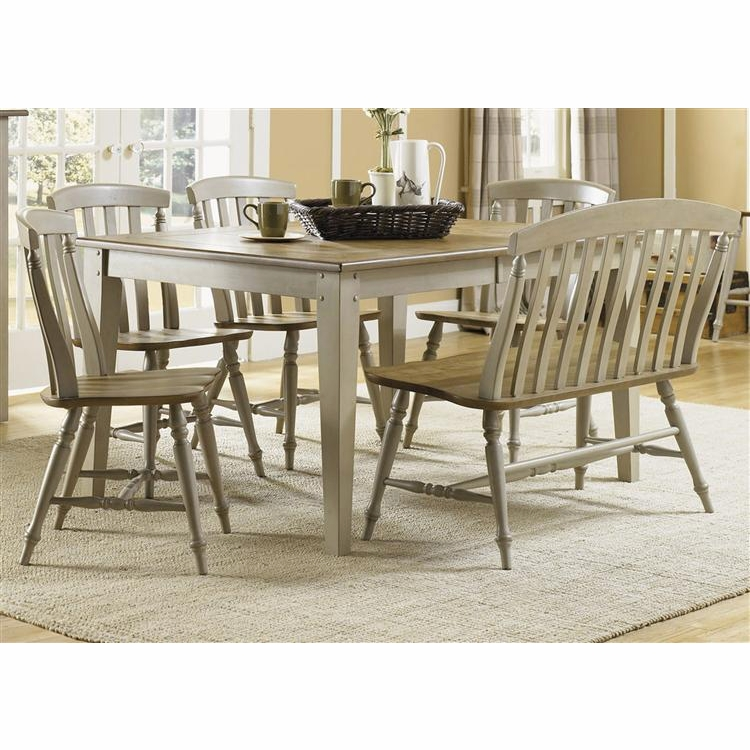 Liberty Furniture - Al Fresco 6 Piece Rectangular Table Set  - 541-CD-6RTS