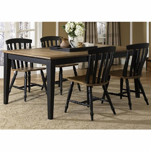 Liberty Furniture - Al Fresco II 5 Piece Rectangular Table Set  - 641-CD-5RLS