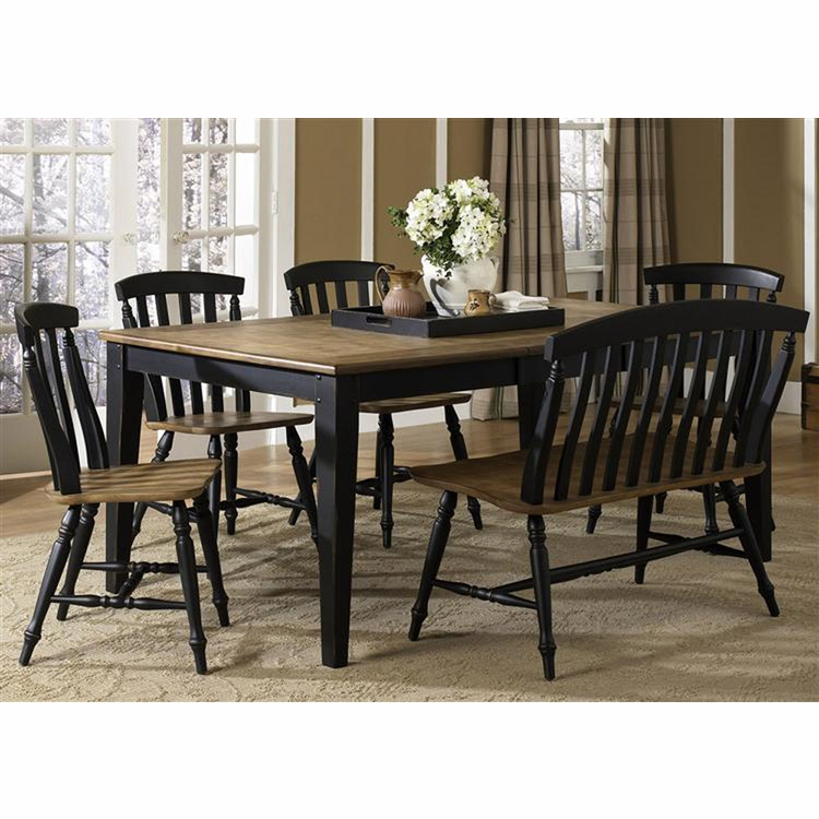 Liberty Furniture - Al Fresco II 6 Piece Rectangular Table Set  - 641-CD-6RTS