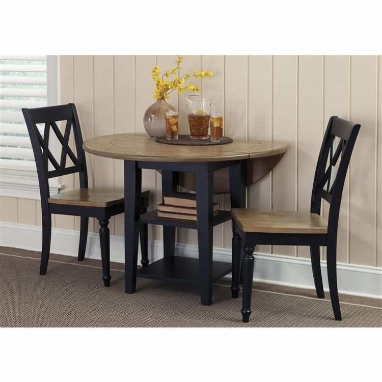 Liberty Furniture - Al Fresco II Opt 3 Piece Drop Leaf Table Set  - 641-CD-O3DLS