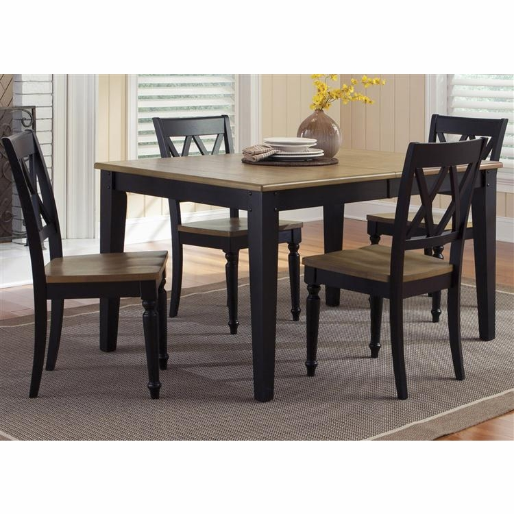 Liberty Furniture - Al Fresco II Opt 5 Piece Rectangular Table Set  - 641-CD-O5RLS