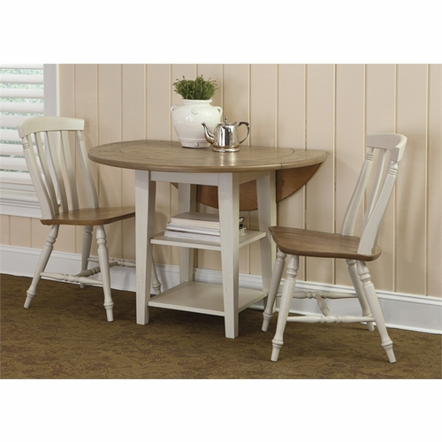 Liberty Furniture - Al Fresco III 3 Piece Drop Leaf Table Set  - 841-CD-3DLS