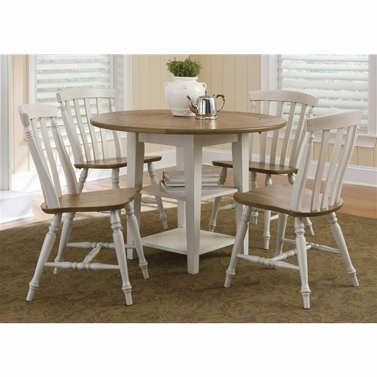 Liberty Furniture - Al Fresco III 5 Piece Drop Leaf Table Set  - 841-CD-5DLS