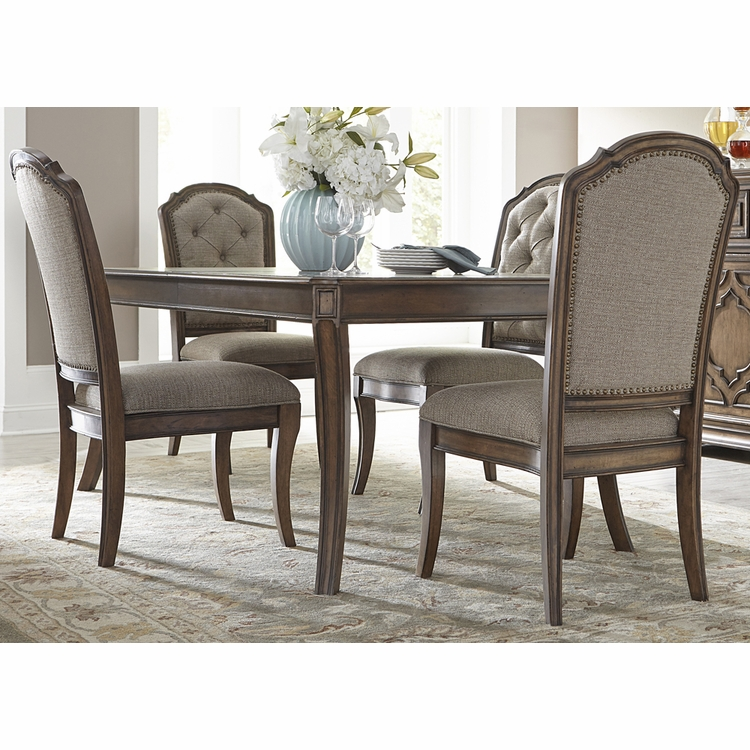 Liberty Furniture - Amelia 5 Piece Rectangular Table Set - 487-DR-5RLS