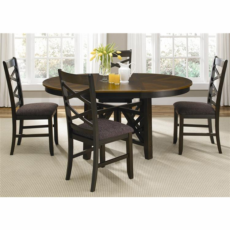Liberty Furniture - Bistro II 5 Piece Oval Table Set  - 74-CD-5OTS