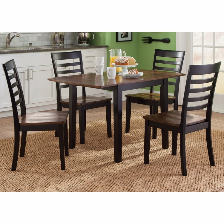 Liberty Furniture - Cafe 5 Piece Drop Leaf Set - 56-CD-5DLS