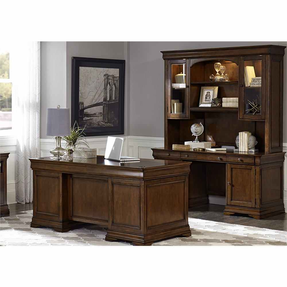 Liberty Furniture Chateau Valley 5 Piece Jr Executive Desk Set 901