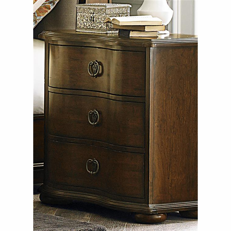 Liberty Furniture - Cotswold 3 Drawer Night Stand - 545-BR61