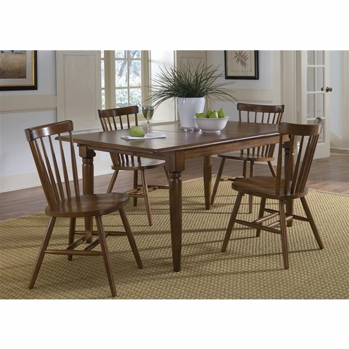 Liberty Furniture - Creations II 5 Piece Butterfly Leaf Table Set  - 38-CD-5BLS