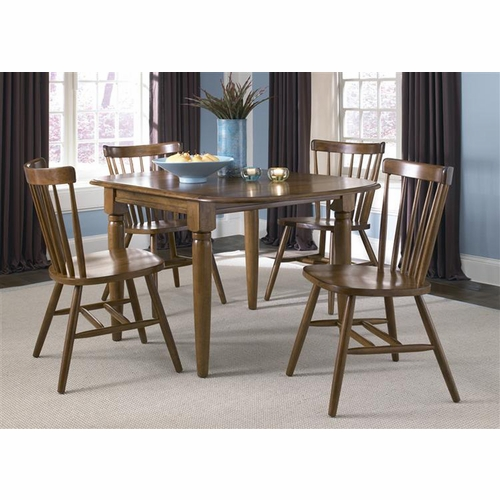 Liberty Furniture - Creations II 5 Piece Drop Leaf Table Set  - 38-CD-5DLS