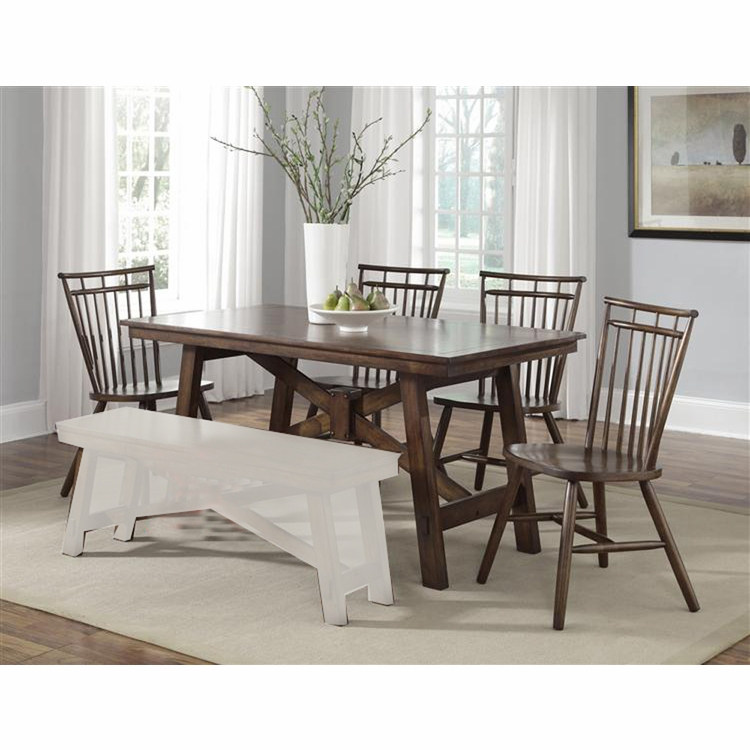 Liberty Furniture - Creations II 5 Piece Rectangular Table Set  - 38-CD-5RLS