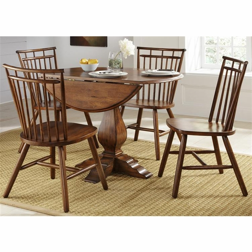 Liberty Furniture - Creations II 5 Piece Round Table Set  - 38-CD-5ROS