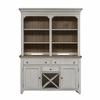 Liberty Furniture - Farmhouse Reimagined Buffet & Hutch - 652-DR-HB