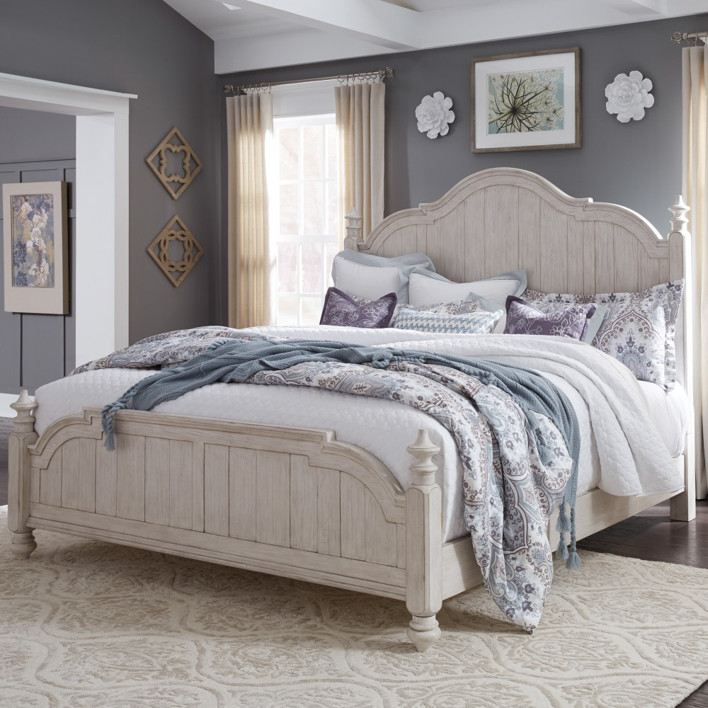 Liberty Furniture - Farmhouse Reimagined Queen Poster Bed ...