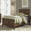 Liberty Furniture - Grandpas Cabin Twin Panel Bed  - 375-YBR-TPB