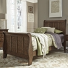 Liberty Furniture - Grandpas Cabin Twin Sleigh Bed  - 375-YBR-TSL