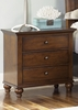 Liberty Furniture - Hamilton 3 Drawer Night Stand - 341-BR61