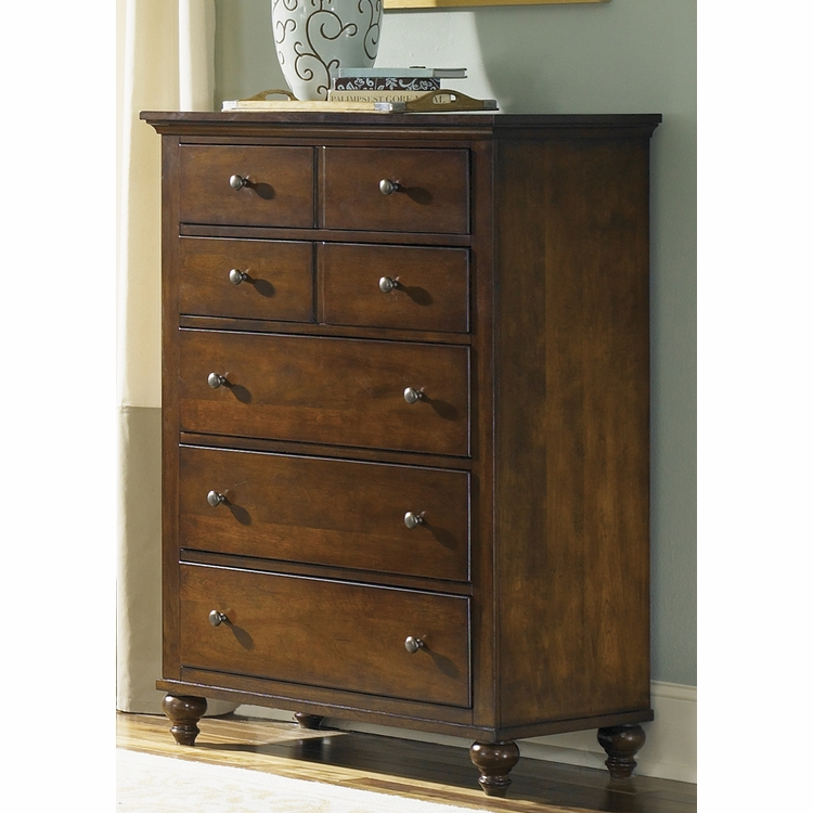 Liberty Furniture - Hamilton 5 Drawer Chest - 341-BR41