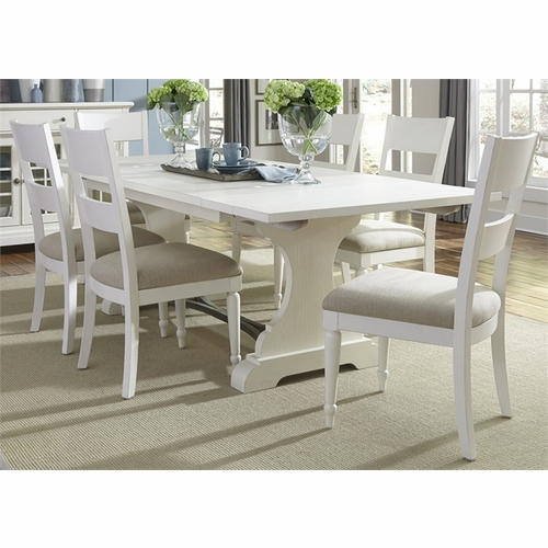 Liberty Furniture - Harbor View II 7 Piece Trestle Table Set  - 631-DR-7TRS