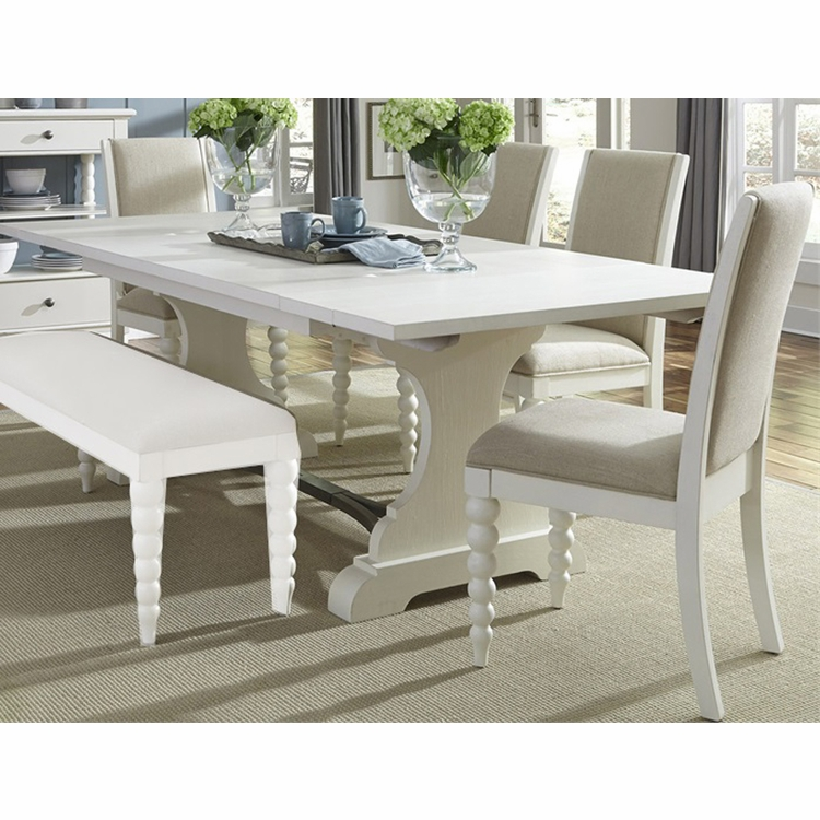 Liberty Furniture - Harbor View II Opt 5 Piece Trestle Table Set  - 631-DR-O5TRS