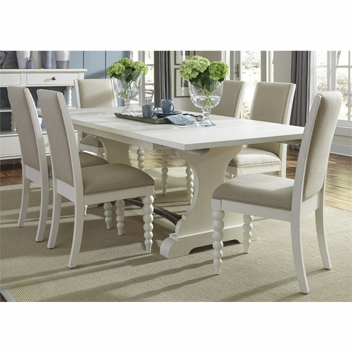 Liberty Furniture - Harbor View II Opt 7 Piece Trestle Table Set  - 631-DR-O7TRS