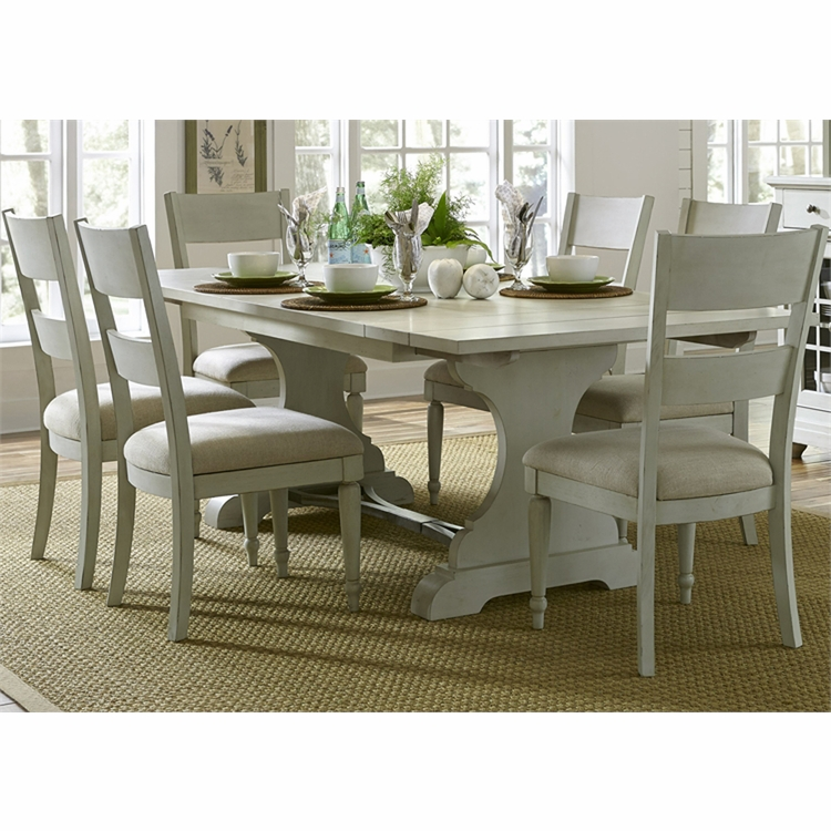 Liberty Furniture - Harbor View III 7 Piece Trestle Table Set  - 731-DR-7TRS