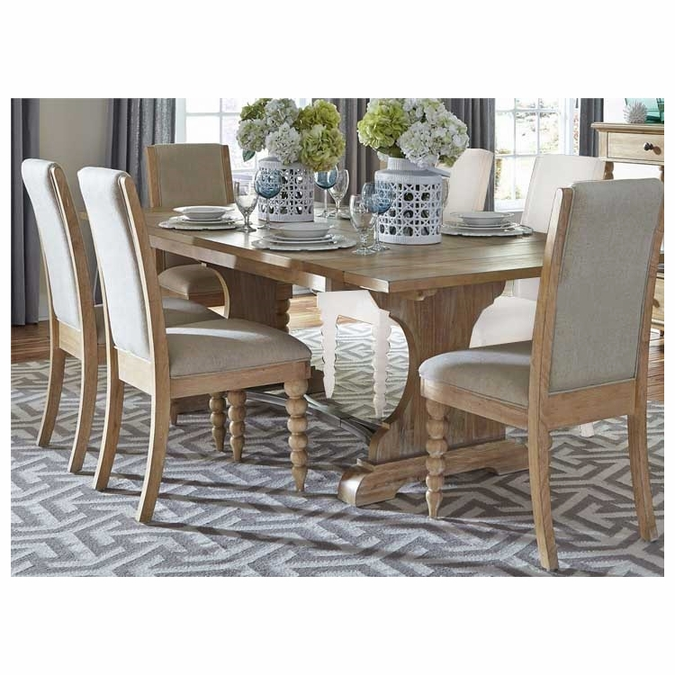 Liberty Furniture - Harbor View Opt 5 Piece Trestle Table Set  - 531-DR-O5TRS